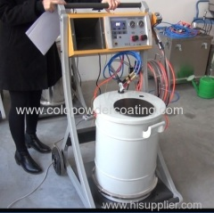 spray gun for powder coating different metal shapes/Pulverpistole