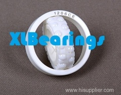 126CE Full Ceramic ZrO2/Si3N4 Self-aligning Ball Bearing