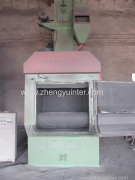 Crawler type shot blasting cleaning machine