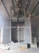Hook type shot blasting cleaning machine2