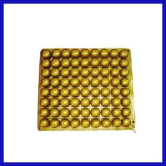 yellow PVC wheelchair cushion can be adjustable air pressure
