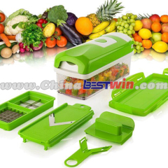 PP and hard stainless steel Nicer Dicer