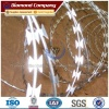 Hot dipped Galvanized Army Security Concertina Razor Barbed Wire