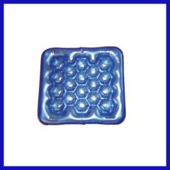 PVC wheelchair seat cushion blue color