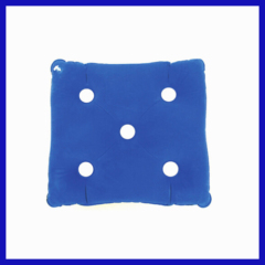 inflatable air bladder for wheelchairs square with hole