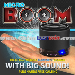 Micro Boom Box Speaker Wireless Android Bluetooth Speaker for Iphone