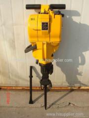 Manual Hand Hammer Rock Drill Gasoline Rock Drill Rig