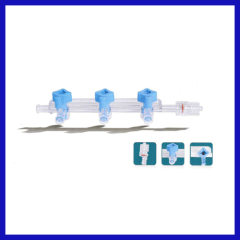 Medical disposable 3-PORT MANIFOLD