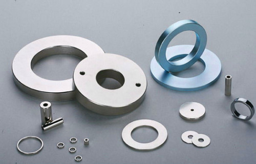 Permanent sintered radial magnetization ring magnet