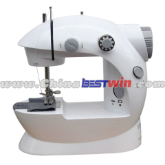 UCHOME Mini batteries Electric sewing machine mini hand sewing machine manual mini sewing machine