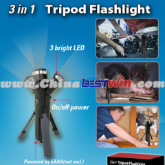 3 in 1 hands free design emergency led flashlight