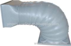 Conducto de salida de viento de plástico circular estilo nuevo