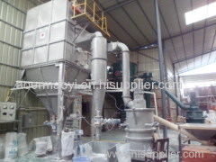 samll noise fluid bed jet mill