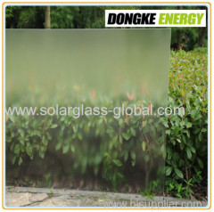 4.0mm Ultra clear low iron float solar glass