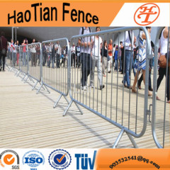 Galvanized security road pedestrian barrier
