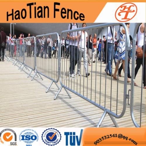 Galvanized security road pedestrian barrier