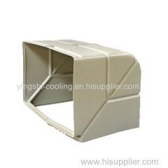 materiale pp raffreddamento di aria evaporativo condotto d'aria