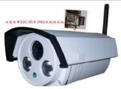 30M Indoor Wifi IP 1080P HD Double LED Light Bullet Camera With Audio Within 32G SD Card Support All Smar