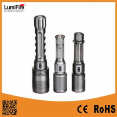 Lumifire Rechargeable Light Flashlight Series LED Powerful Torch