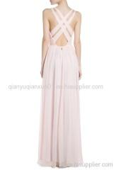 2015 Hot sale Cross back Women dress China super dress factory