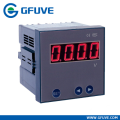 SINGLE PHASE CURRENT AND VOLTAGE DISPLAY METER