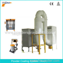Easy Change Color Powder Coating Spray Booth
