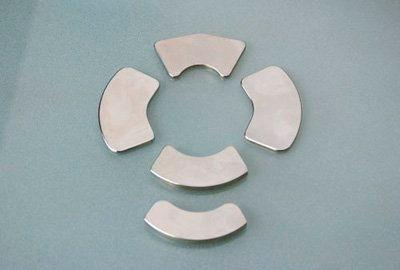 Sintered Permanent Neodymium Grade N45M Arc Segment Magnets