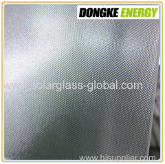 4.0mm AR coating patterned solar glass