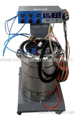 Best selling Electrostatic powder spray unit with colo-06 powder gun