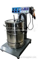 Best selling Electrostatic powder spray unit with colo-06 powder gun
