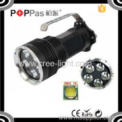 Newest design Lumifire 3100 High Power 2500 lumens 5*xml t6 flash led light