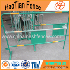 China Powder Coating Traffic Barrier With Reflective Tape
