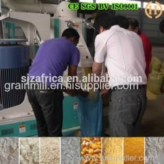 maize flour grinding machine