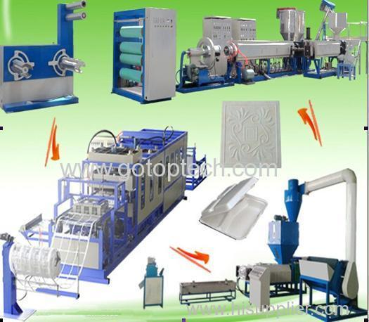 Food container EPS foam production line project