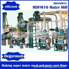 Corn/Maize Grinding flour mill