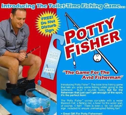Potty Fisher Toilet Fishing Game Novelty Toilet Game