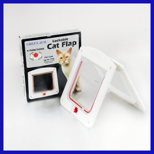 as seen on tv Fits all wall and door pet door 4 ways pet door cat flap