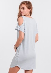 Summer day's new select 60% Cotton 40% Rayon Unlined opaque dress women dress factory cheap price