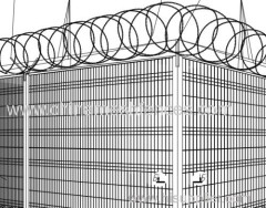 Airport Security Wire Fence System
