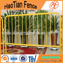 Galvanized Welded Road Safety Crowd Control Barrier