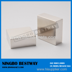 L19*13*3mm Permanent Magnets Building Block Shape