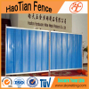 Colorful Temporary Steel Hoarding Used For Construction Sites