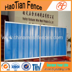 Colorbond Temporary Steel Hoarding Panels