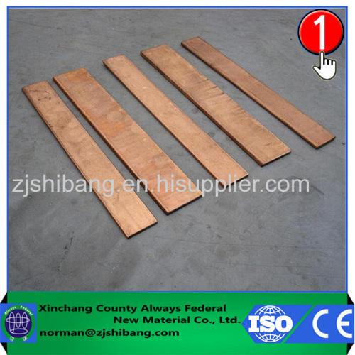 Flat Copper Ground Strap