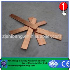 Copper bonded steel plating Earth Tape of Lightning Protection System