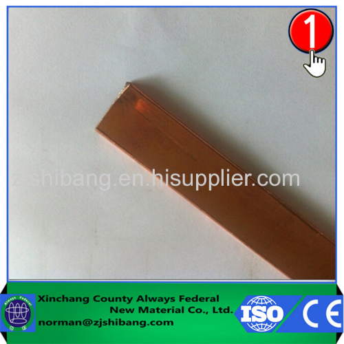 Flat Copper Ground Strap