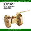 flanged hydarulic ball valve 16MPa dn32