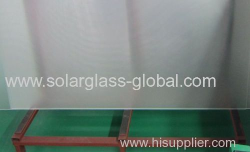 4.0mm AR coating low iron solar glass with high quality
