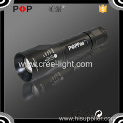POPPAS S1 450lm high brigtnesss adjust foucus strong light torch