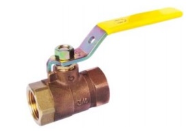 Bronze Ball Valve-Threaded
